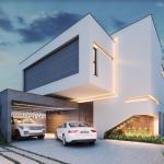 Bevilacqua Arquitetura - Projeto Arquitetônico Casa MC