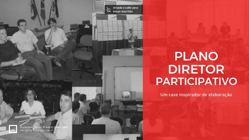Capa Plano Diretor Participativo