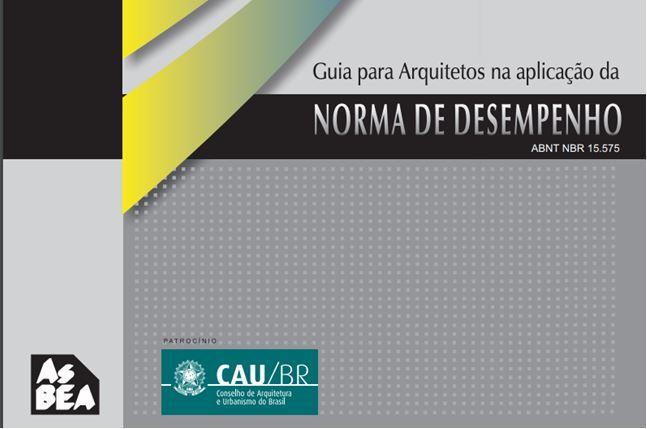Norma de Desempenho Guia para Arquitetos CAU