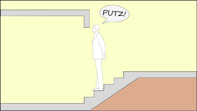 Altura livre escada