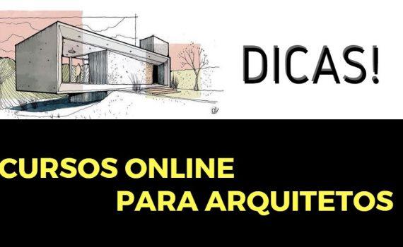 Capa Cursos online para arquitetos