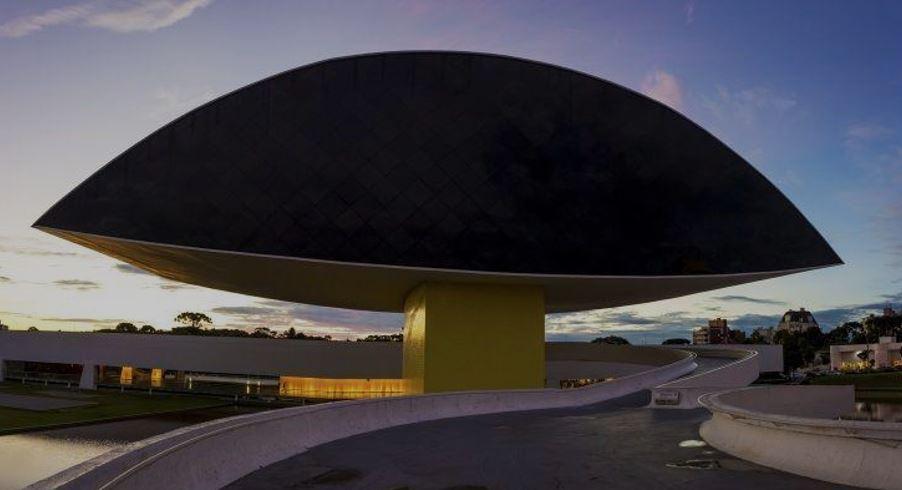Museu Oscar Niemayer Curitiba Araucarias