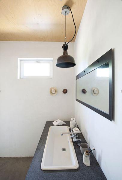 O banheiro: a pia