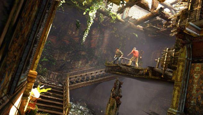Arquitetura Jogo Uncharted 3