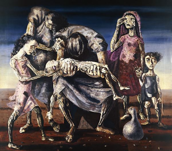 """Criança morta"", ost, 176 X 190cm, 1944 – Portinari -"