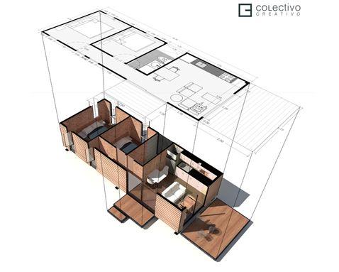 VIMOB - Colectivo Creativo Arquitectos - CORTE