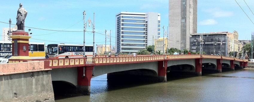 Ponte Mauricio de Nassau - Primeira Ponte de Madeira