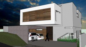 3D Arquitetônico - Bevilacqua Arquitetura - Casa M.C.