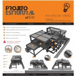 3D Infográfico Projeto Estrutural Casa M.C.