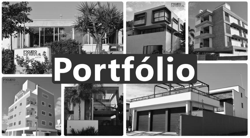 capa Portfolio Projeto Estrutural Online