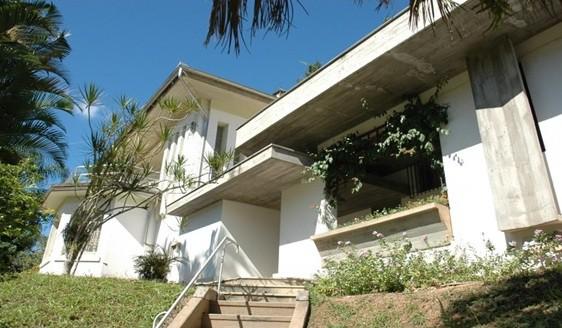 Foto do local onde foi a casa do Egon Belz e onde por 10 anos o IAB Manteve como Caso do Arquiteto