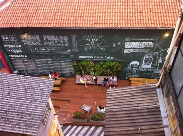 Pracinha Oscar Freire/São Paulo