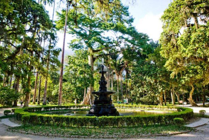 Chafariz das Musas no Jardim Botânico / Rio de Janeiro