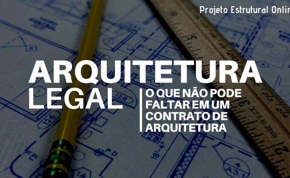 contrato de arquitetura