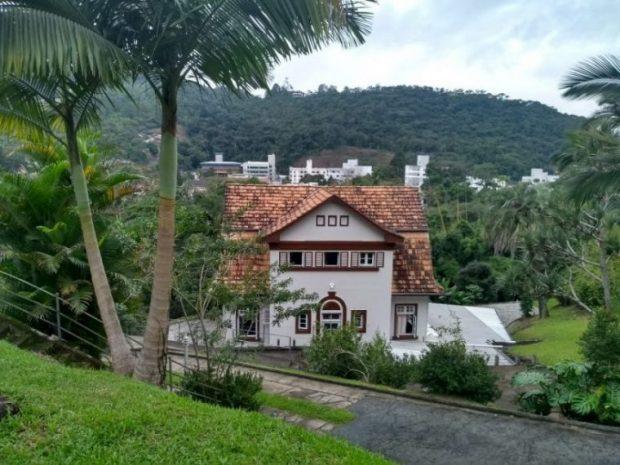 Residência onde Hans Broos morou em Blumenau/Divulgação