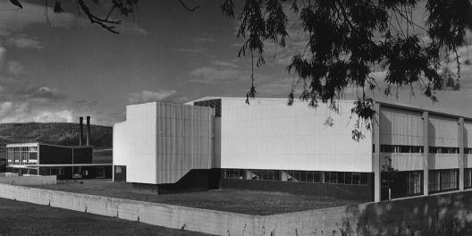 Indústria Têxtil Blumberg - Alemanha - Foto: Arquiteto Egon Eiermann