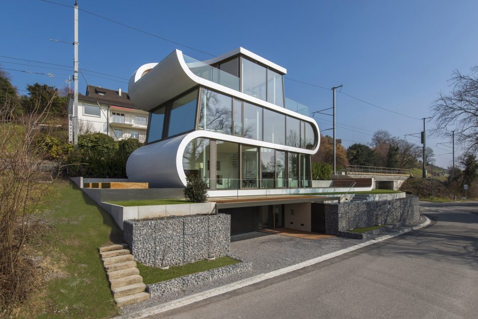 Flexhouse / Evolution Design - Suíça. Foto: Peter Wuermli / Archdaily