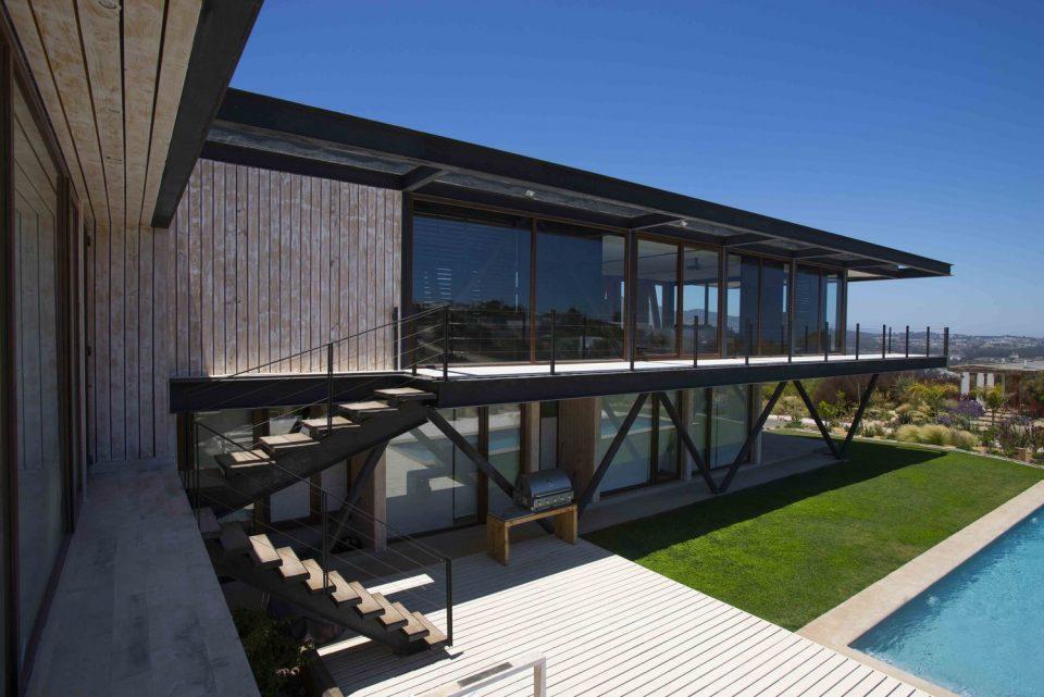 Casa M / Andres Nuñez Fuenzalida Arquitectos - Chile. Foto: Fernando Gomez / Site Archdaily