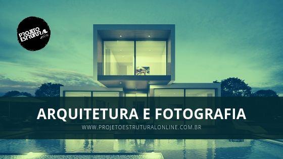 Capa Arquitetura e Fotografia