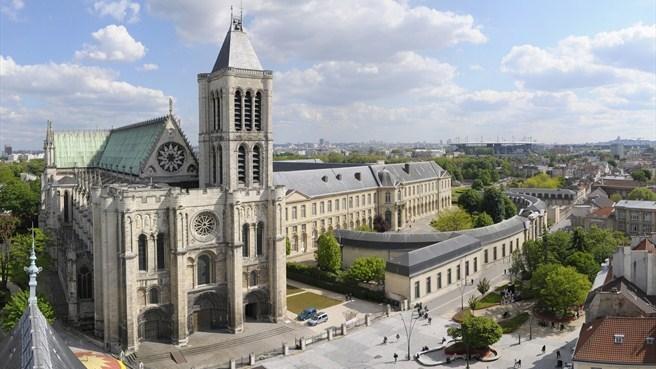 Catedral Basílica de Saint-Denis. Foto: Site Paris Sempre Paris