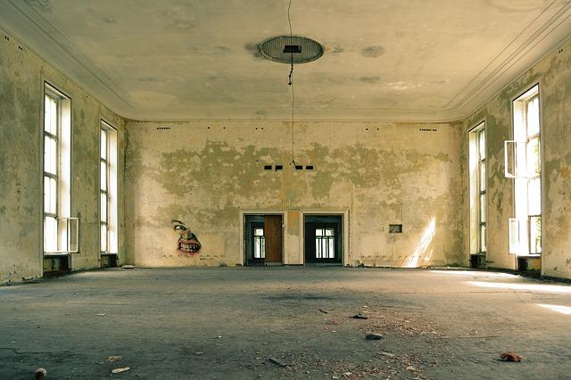Interior vazio para reformar. Foto: SnapwireSnaps / Pixabay