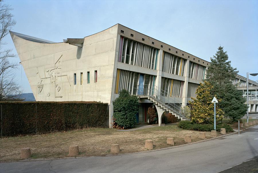 Museu da Cultura. Firminy/França - Foto: Olivier Martin-Gambier