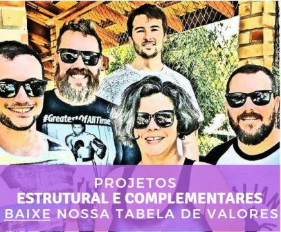 Valores Projetos Complementares bit.ly/tabelavalores