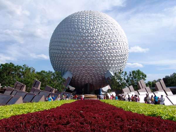 Epcot Center Disney World / Buckminster Fuller