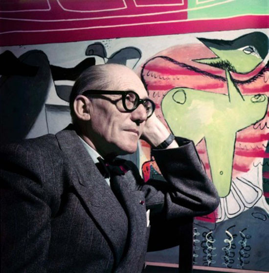 O arquiteto Le Corbusier - Foto: Willy Rizzo
